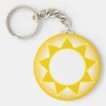Sun Key Chain