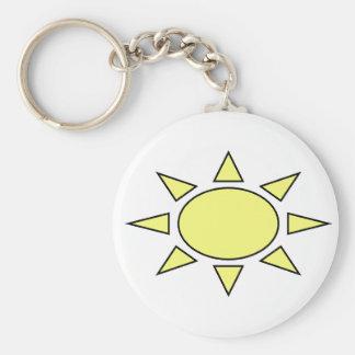 Sun Key Chains
