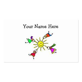 Sun Kids Double-Sided Standard Business Cards (Pack Of 100)