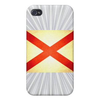 Sun kissed Alabama Flag Cases For iPhone 4