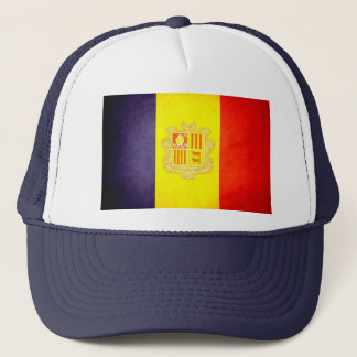 Sun kissed Andorra Flag Trucker Hat