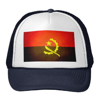 Sun kissed Angola Flag Trucker Hat