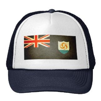 Sun kissed Anguilla Flag Trucker Hats