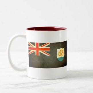 Sun kissed Anguilla Flag Mugs