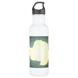Sun kissed Antarctica Flag 24oz Water Bottle