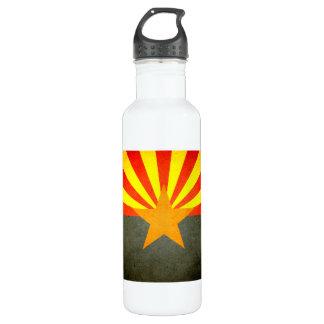Sun kissed Arizona Flag Water Bottle