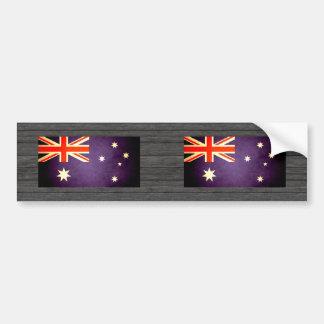 Sun kissed Australia Flag Bumper Sticker