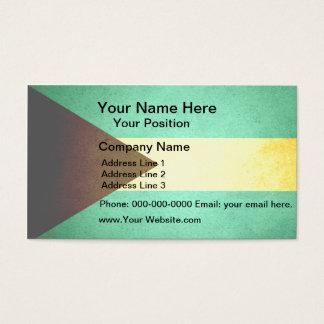 Sun kissed Bahamas Flag Business Card