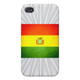 Sun kissed Bolivia Flag iPhone 4 Covers