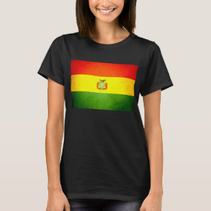 Sun kissed Bolivia Flag T-Shirt
