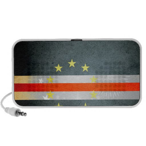 Sun kissed Cape Verde Flag Speakers
