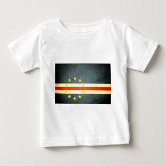 Sun kissed Cape Verde Flag Tee Shirt