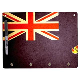 Sun kissed Cayman Islands Flag Dry-Erase Boards