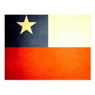 Sun kissed Chile Flag Postcard