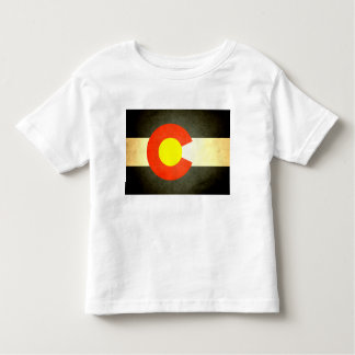 Sun kissed Colorado Flag Toddler T-shirt