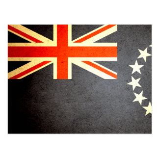 Sun kissed Cook Islands Flag Postcard