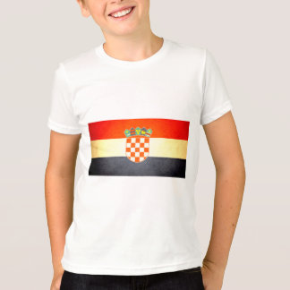 Sun kissed Croatia Flag T-Shirt