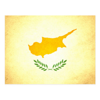 Sun kissed Cyprus Flag Postcard