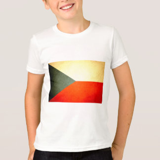 Sun kissed Czech Republic Flag T-Shirt