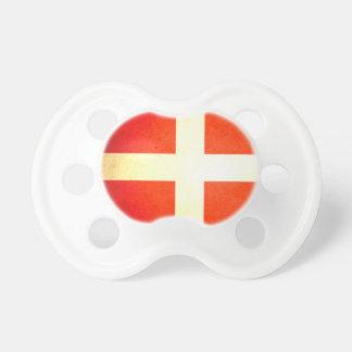 Sun kissed Denmark Flag Pacifiers