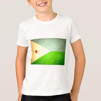 Sun kissed Djibouti Flag T-Shirt