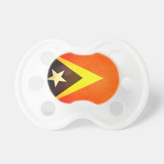 Sun kissed East Timor Flag Pacifiers
