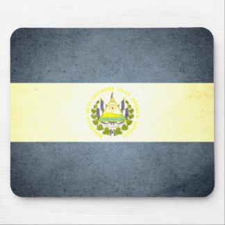 Sun kissed El Salvador Flag Mouse Pad