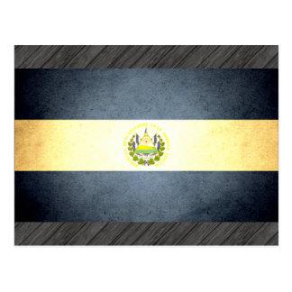 Sun kissed El Salvador Flag Postcard