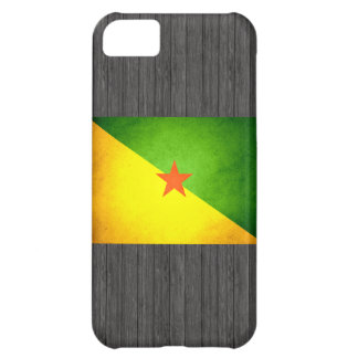 Sun kissed French Guiana Flag Cover For iPhone 5C