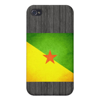 Sun kissed French Guiana Flag iPhone 4/4S Cover