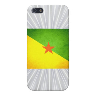 Sun kissed French Guiana Flag iPhone 5 Covers