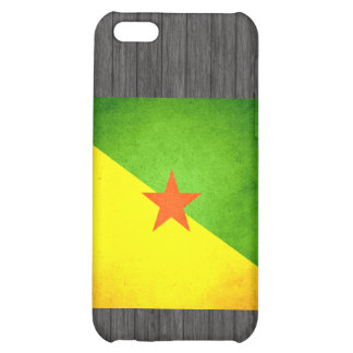 Sun kissed French Guiana Flag iPhone 5C Case