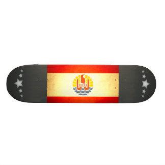 Sun kissed French Polynesia Flag Skate Board Deck