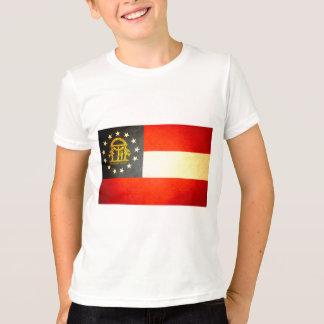 Sun kissed Georgia Flag T-Shirt