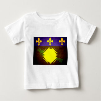 Sun kissed Guadeloupe Flag Shirts