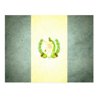 Sun kissed Guatemala Flag Postcard