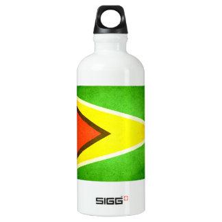 Sun kissed Guyana Flag Water Bottle
