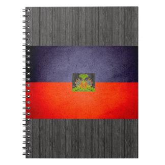 Sun kissed Haiti Flag Notebook