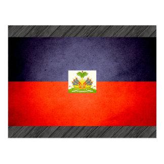 Sun kissed Haiti Flag Postcard