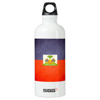 Sun kissed Haiti Flag Water Bottle