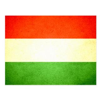 Sun kissed Hungary Flag Postcard