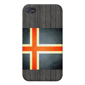 Sun kissed Iceland Flag iPhone 4 Covers