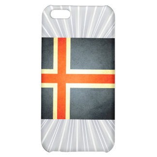 Sun kissed Iceland Flag Cover For iPhone 5C