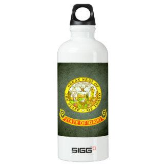 Sun kissed Idaho Flag Water Bottle