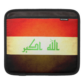 Sun kissed Iraq Flag Sleeves For iPads