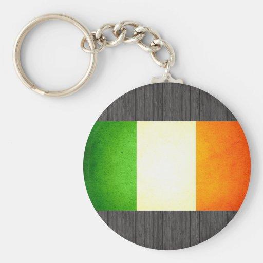 Sun kissed Ireland Flag Keychains