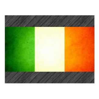 Sun kissed Ireland Flag Postcard