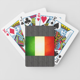 Sun kissed Italy Flag Bicycle Poker Cards