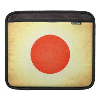 Sun kissed Japan Flag iPad Sleeves