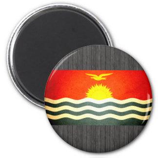 Sun kissed Kiribati Flag Fridge Magnets